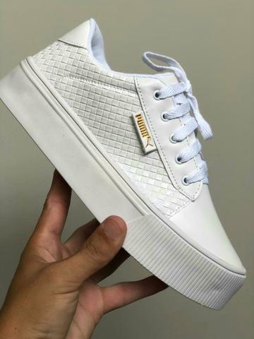 57a75132d Chegou a nova coleção tênis e sapatenis feminino! um + lindo q outro ...