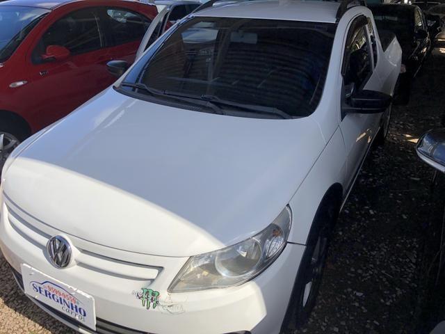 VW SAVEIRO CE 12 Completa GNV 5?Ger. Sonzão Top Revisada.R$33.900,
