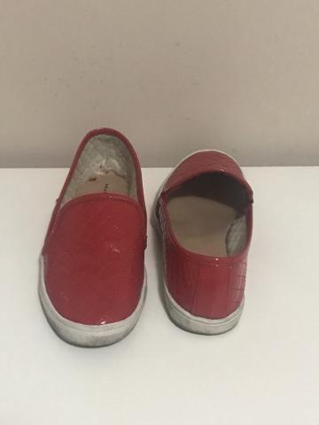 264aaf495 Tênis Splin On vermelho - Roupas e calçados - Jardim Mauá, Mauá ...