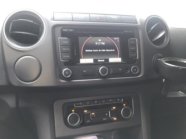 VW Amarok Highline 2.0 TDI 2016 - Automático - Muito Novo !!! - Foto 10
