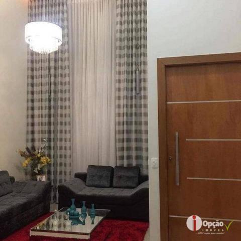 Casa com 3 dormitórios à venda, 234 m² por r$ 550.000,00 - residencial portal do cerrado - - Foto 8