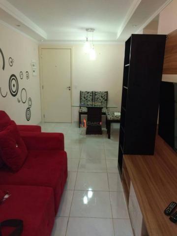Nova Mogi I - Apartamento com 2 dormitórios à venda, 58 m² por R$ 265.000 - Mogi Moderno - - Foto 13