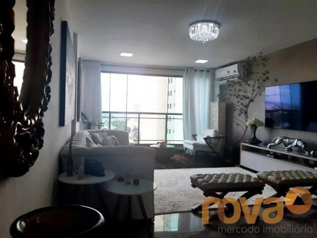 Apartamento à venda com 3 dormitórios em Setor bueno, Goiânia cod:NOV235797 - Foto 4