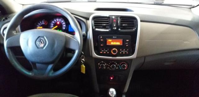 Ent+ 899,00!!!! Renault Logan Authentique ano 2018 1.0 completo!!!! - Foto 6