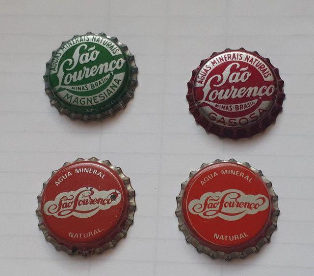 Tampinhas brasileiras muito antigas para coleção  a escolher.