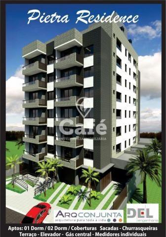 Apartamento à venda com 2 dormitórios em Nossa senhora de fátima, Santa maria cod:0690