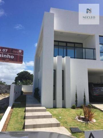 Casa com 4 dormitórios à venda, 248 m² por R$ 1.600.000,00 - Intermares - Cabedelo/PB - Foto 2