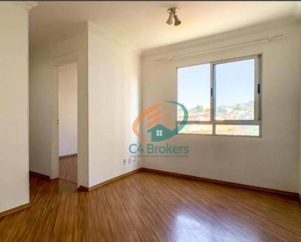 Apartamento com 2 dormitórios para alugar, 45 m² por R$ 1.547,00/mês - Ponte Grande - Guar - Foto 3