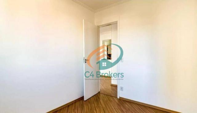 Apartamento com 2 dormitórios para alugar, 45 m² por R$ 1.547,00/mês - Ponte Grande - Guar - Foto 12