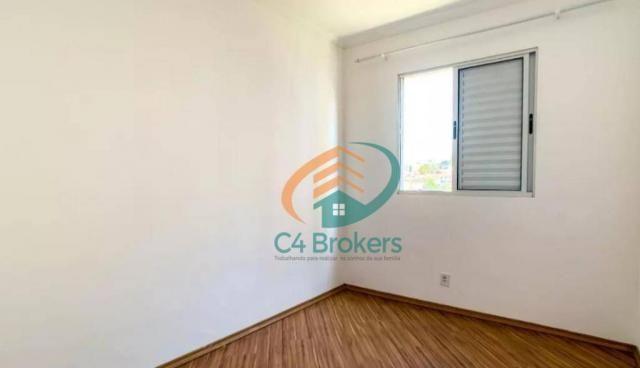Apartamento com 2 dormitórios para alugar, 45 m² por R$ 1.547,00/mês - Ponte Grande - Guar - Foto 11