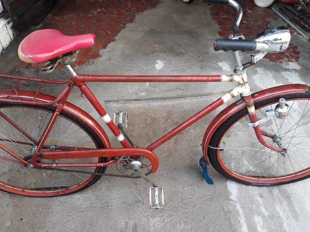 Bicicleta Inglesa Hércules - Wolf - Evolux - não é Caloi, Monark, Goericke  - Foto 4