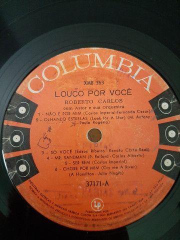 Lp - Roberto Carlos - Louco Por Você (original) (1961) - Foto 5