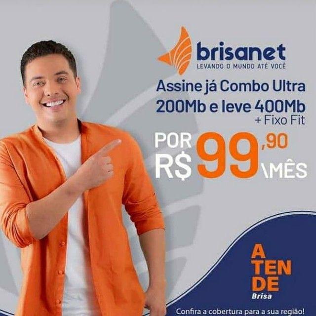 Internet 100% fibra óptica é Brisanet  - Foto 6