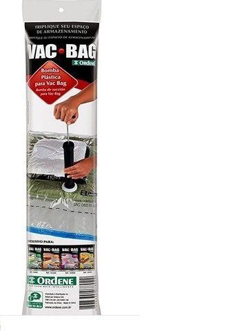 Bomba Plástica para Vac Bag Preta Ordene  - Foto 2