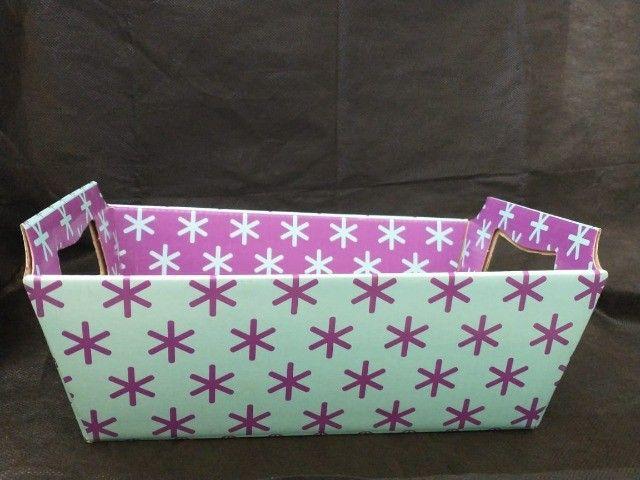 Lindas cestas de papel para o Dia das Mães  - Foto 6