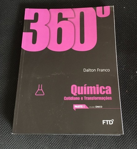 Box 360 Quimica F T D  Dalton Franco, com 6 volumes, usado, - Foto 6