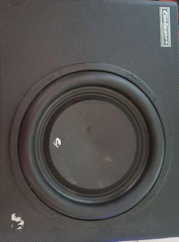 Caixa de som amplificada(so grave)