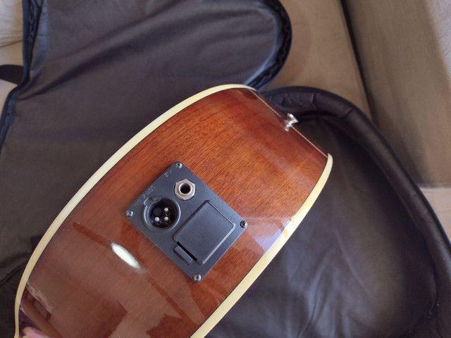 Violão Hofma 12 cordas com equalizador - Foto 4