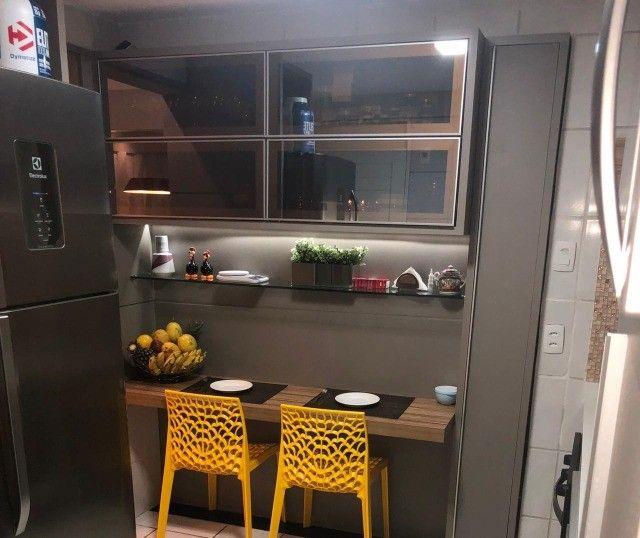 No Expedicionários, apartamento projetado e com ambientes climatizados! - Foto 4