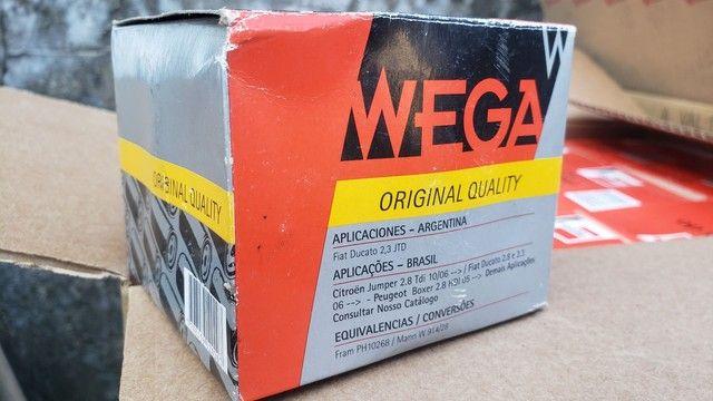 Filtro de óleo WO-421 WEGA ORIGINAL - Foto 5