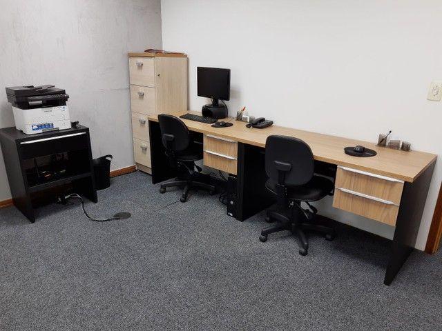 Vendo mobília completa para escritório - Foto 2