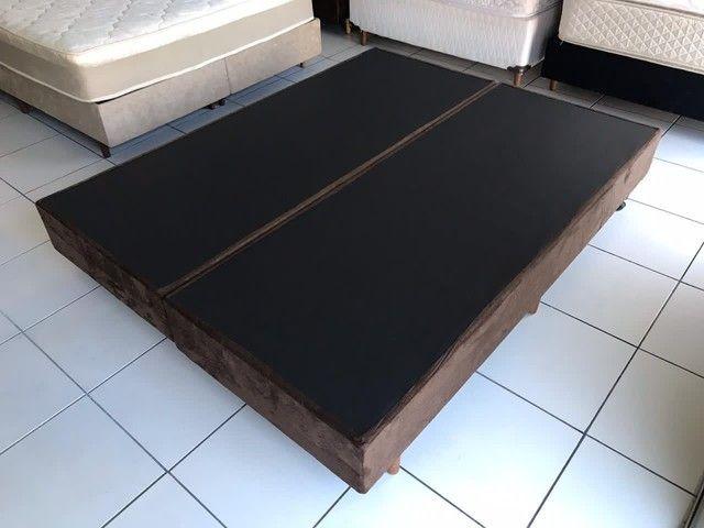 Base box queen SIZE 1,98 x 1,58m - entregamos hoje  - Foto 3