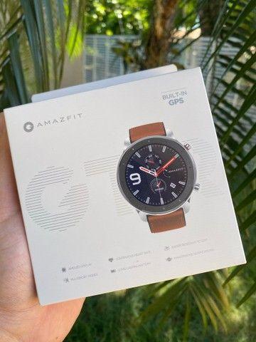 Relógio GTR Amazfit c GPS 47mm Novo Xiaomi