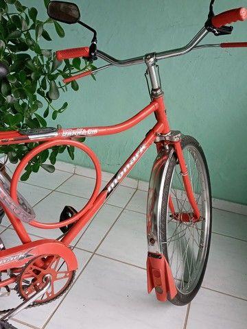 Bicicleta  original monark cachimbada  - Foto 3