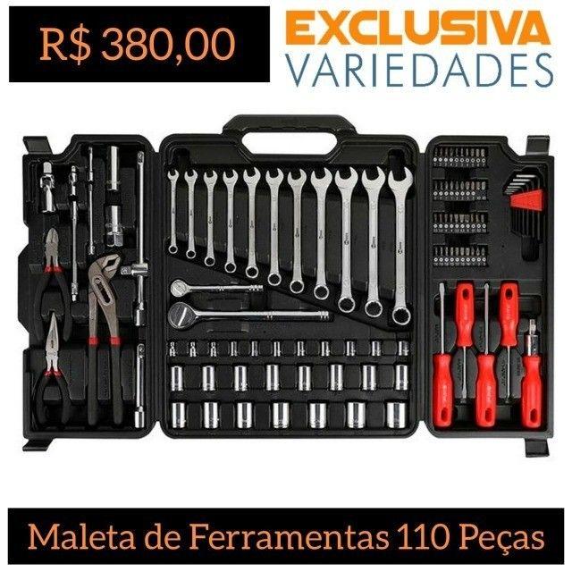 Jogo de Ferramentas 110 Peças Nove54 + Entrega Grátis