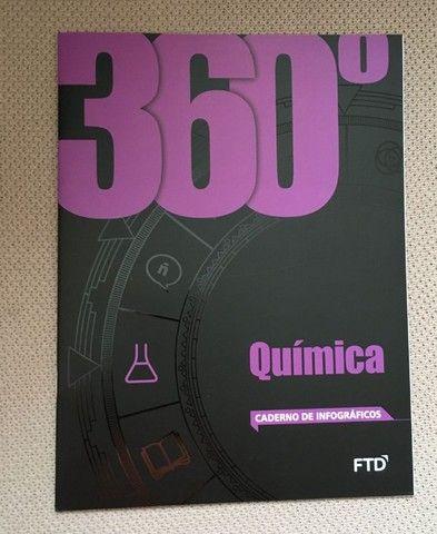 Box 360 Quimica F T D  Dalton Franco, com 6 volumes, usado, - Foto 4