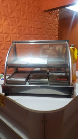 Promoção estufa de lanchonete 6 bandejas