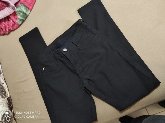 Calça preta 42 - Foto 3