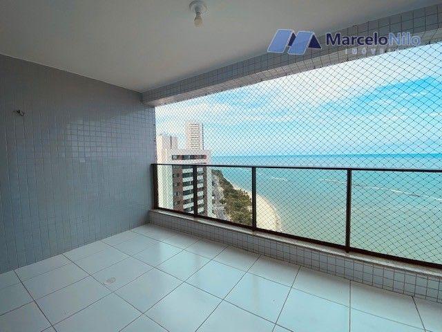 Apartamento na Beira-Mar de Olinda, 134m2, 4 quartos, 2 suítes, 3 vagas, Lazer Completo