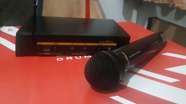 Microfone sem fio AKG