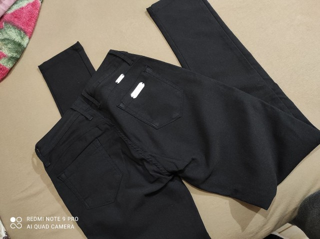 Calça preta 42 - Foto 6