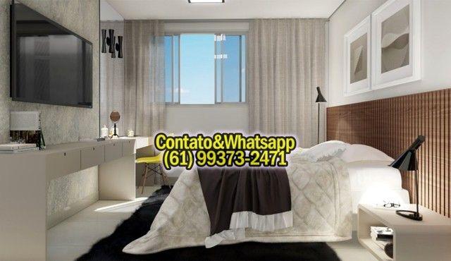 Apartamento em Goiania, 2Q (1Suíte), 55m2, Garagem, Lazer Completo! Parcela. - Foto 4