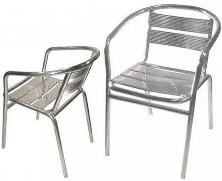 Cadeira Poltrona em Aluminio para Área Externa  - Foto 2