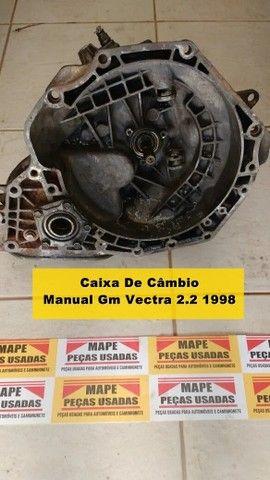 Caixa De Câmbio Manual Gm Vectra 2.2 1998