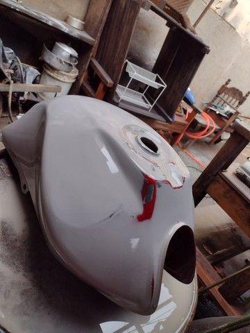 Vende-se Tanque de moto 150 ano 2012 - Foto 3
