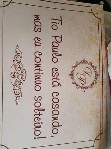 Placa Casamento - Foto 3