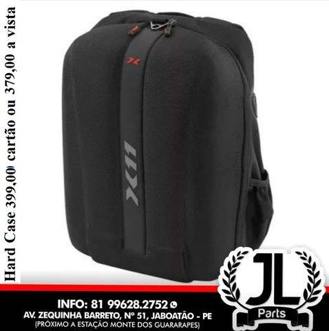 Mochila Hard Case X11 Moto Impermeável Bolsa Mala Notebook Laptop JL Parts - Foto 2