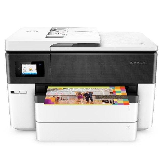 Multifuncional HP 7740 Nova com bulk ink - Foto 2