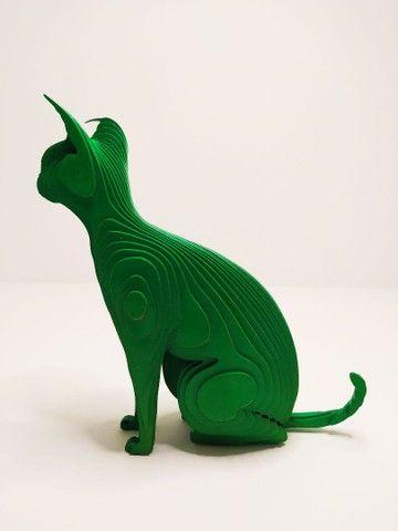 Escultura gato Tukan - Foto 3