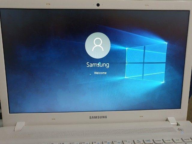 "Notebook Samsung I5 15.6"" Branco - Foto 2"