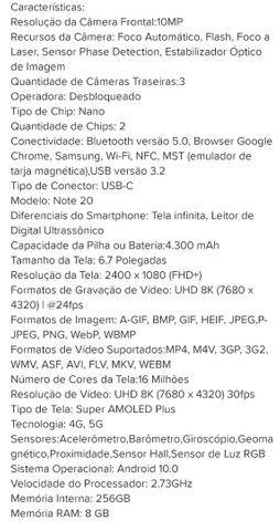 Samsung note 20 5g - Foto 3