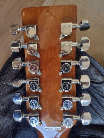 Violão Hofma 12 cordas com equalizador - Foto 6