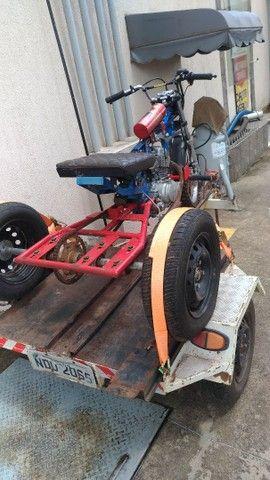 Vendo triciclo e carretinha - Foto 6