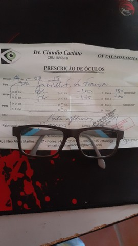 Óculos da oakley com grau