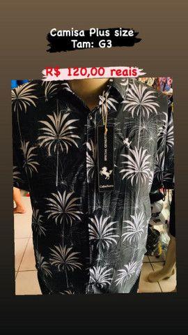 Lojas de roupas pluizsize masculina - Foto 4
