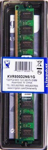 Memória Kingston Ddr2 1gb desktop - Foto 3